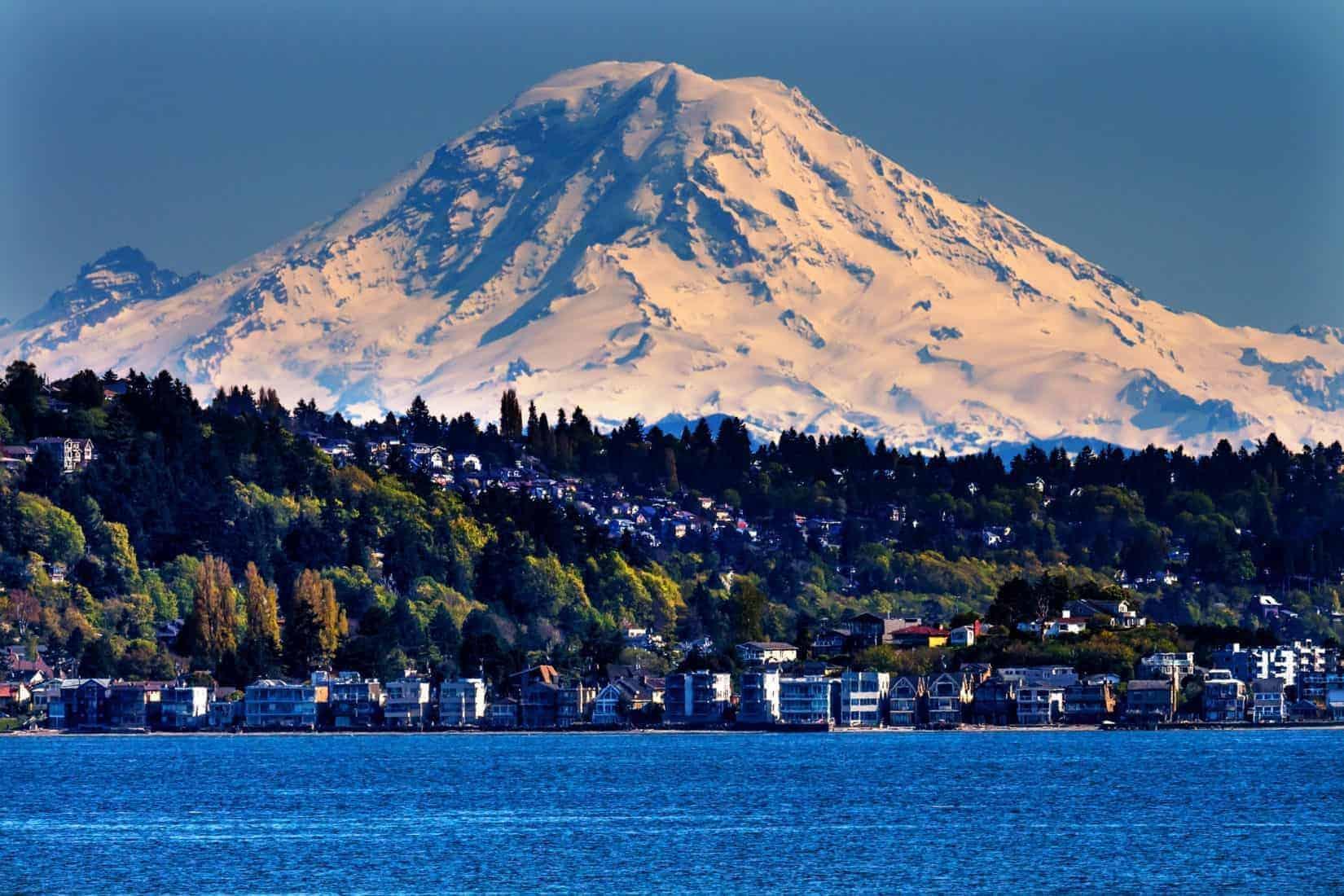 Seattle Mount Rainier and Puget Sound