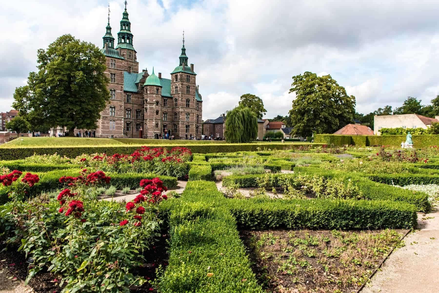 Denmark, Rosenborg Castle in Copenhagen