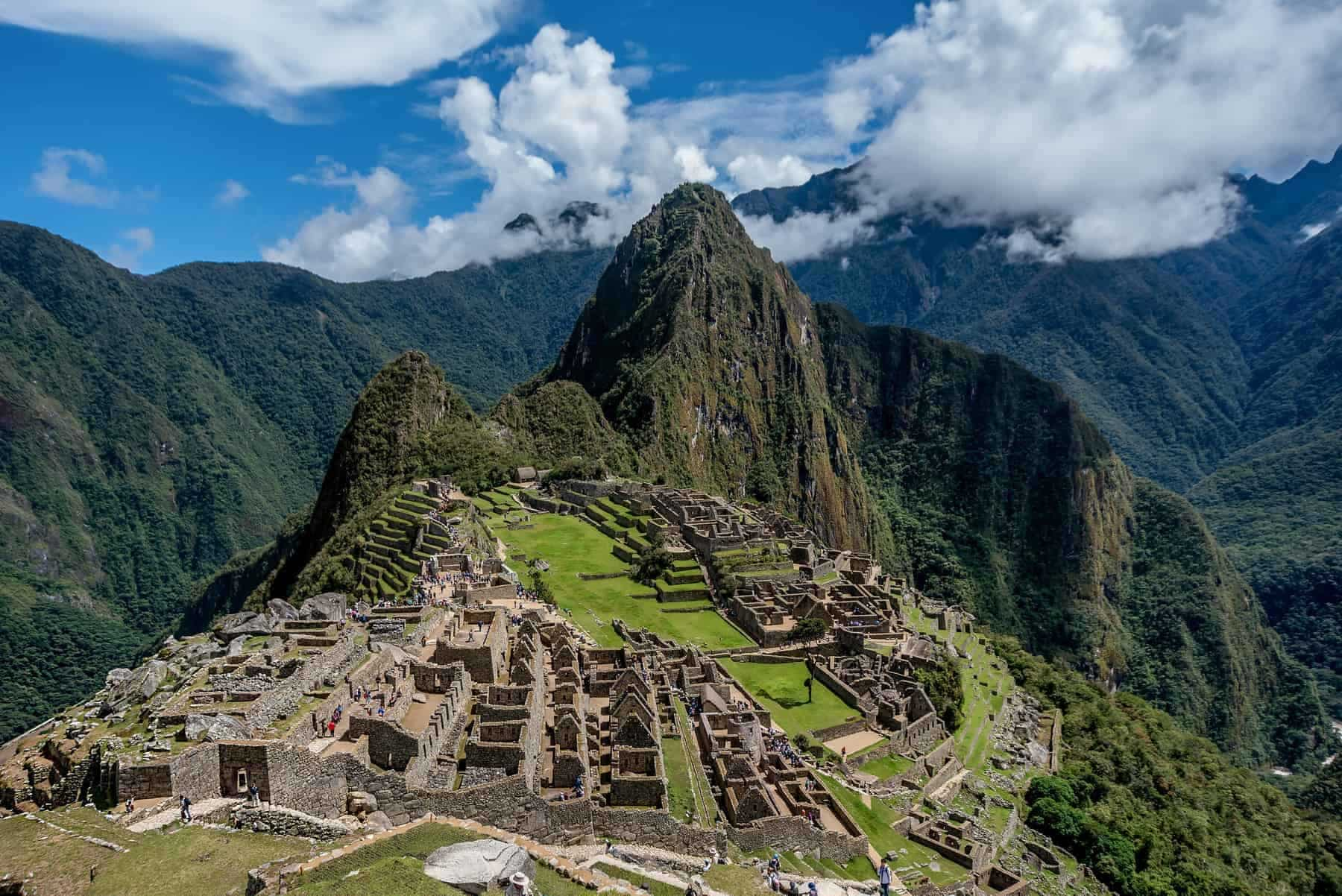 Archeological site of Machu Picchu ,Peru