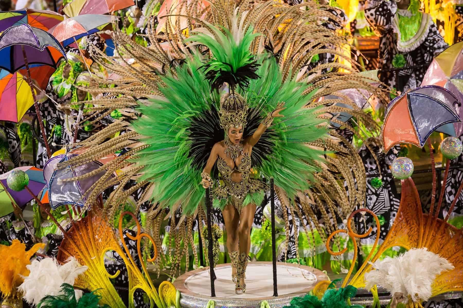 Carnival 2014 Rio de Janeiro. Sambodromo