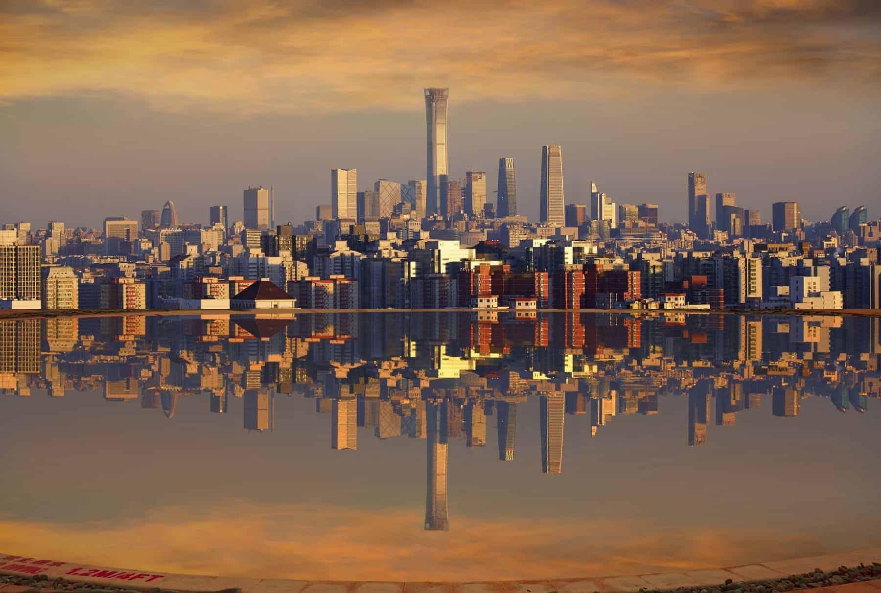 Beijing, the modern metropolis