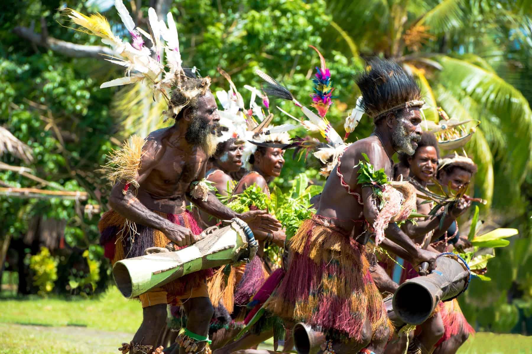 New Guinea, traditional dances
