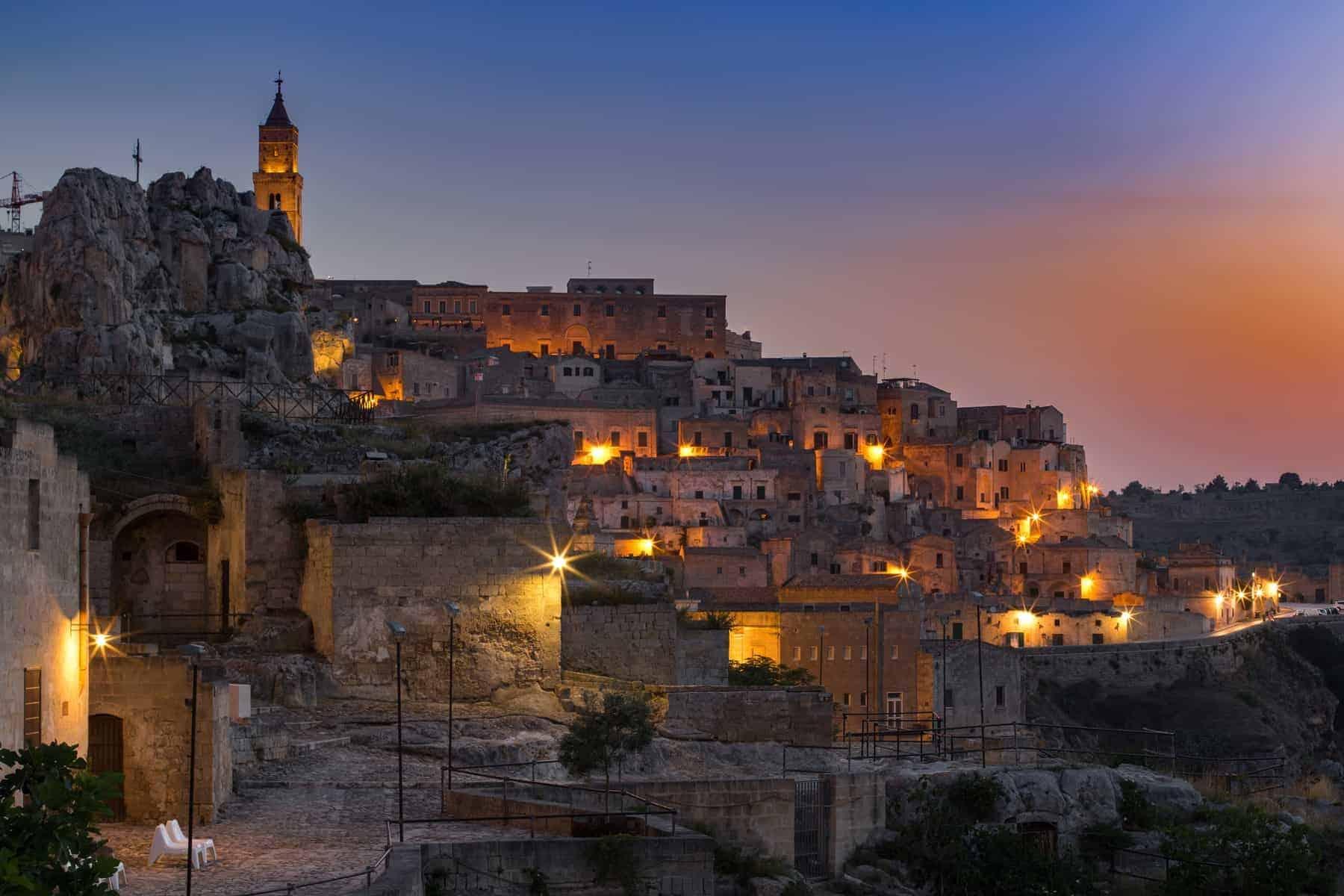 Sassi of Matera. Basilicata. Italy.