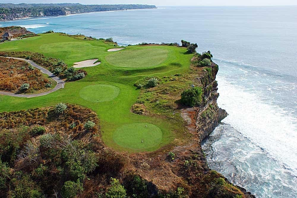 New Kuta golf course Bali