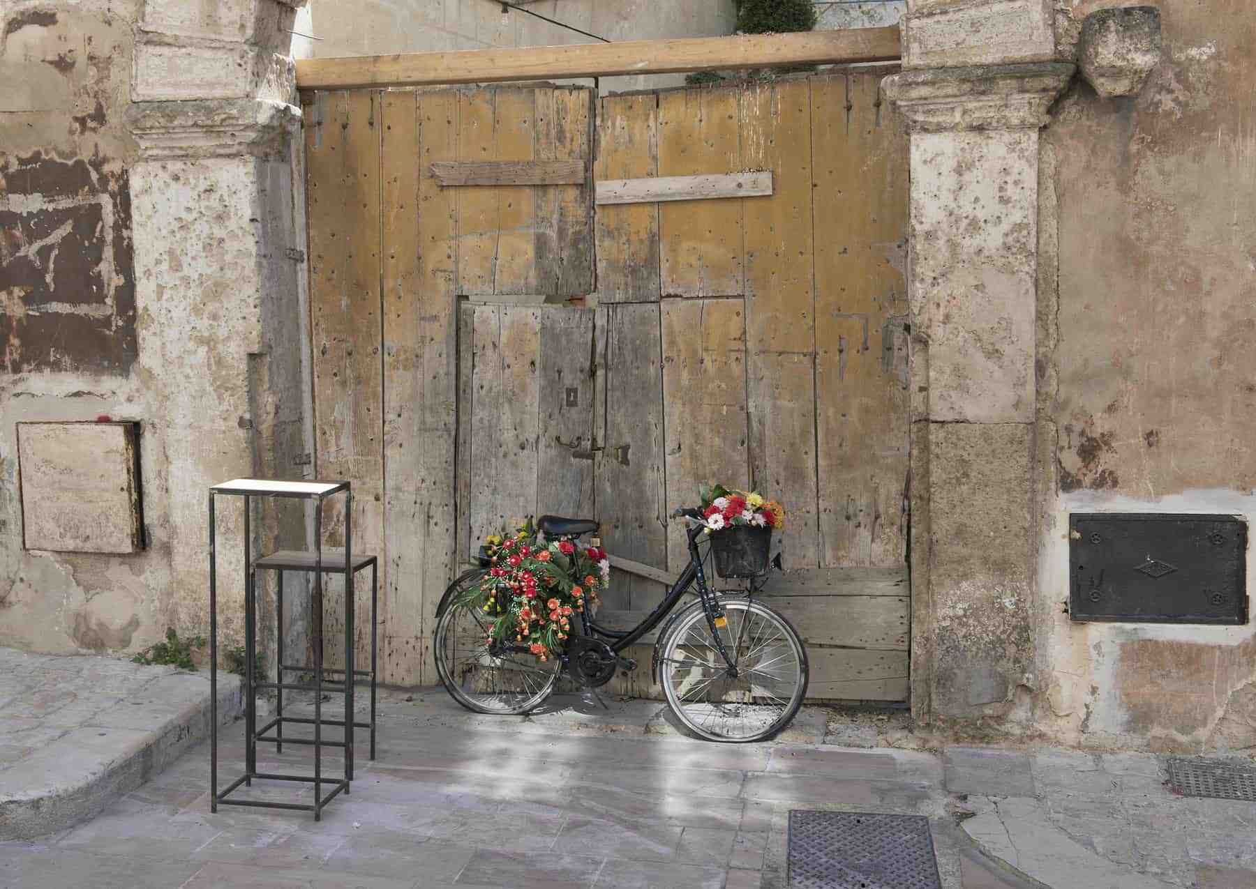 matera charming bike flower decorationmatera charming bike flower decoration