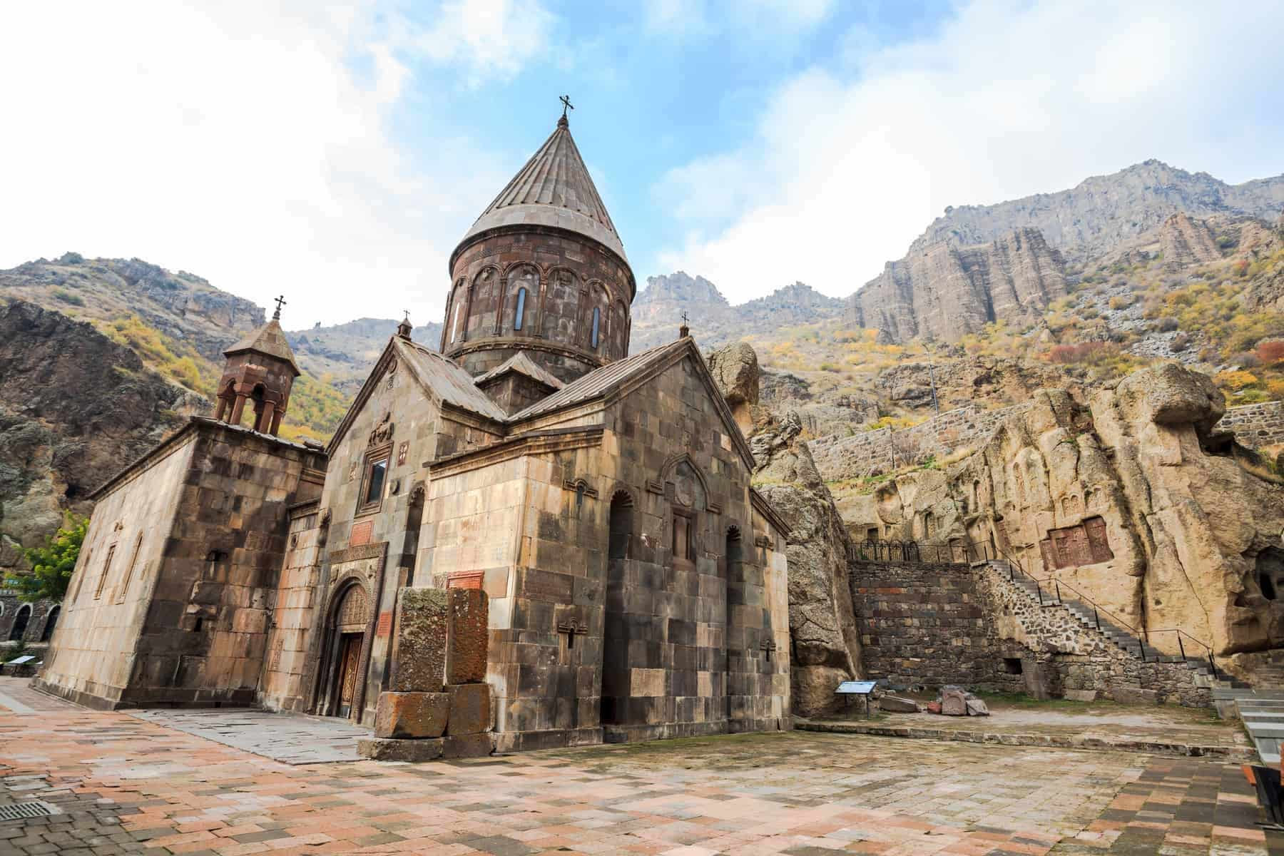 Monastery of Geghard is an Orthodox Christian monastery located in Kotayk Province of Armenia