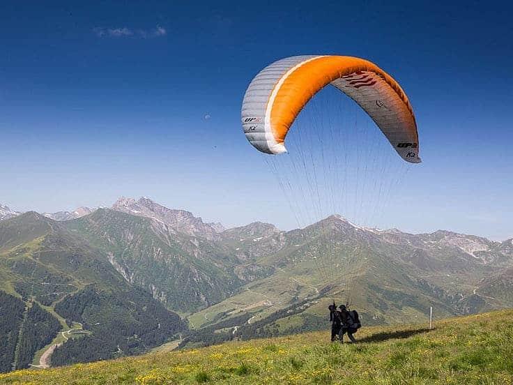zillertal paragliding