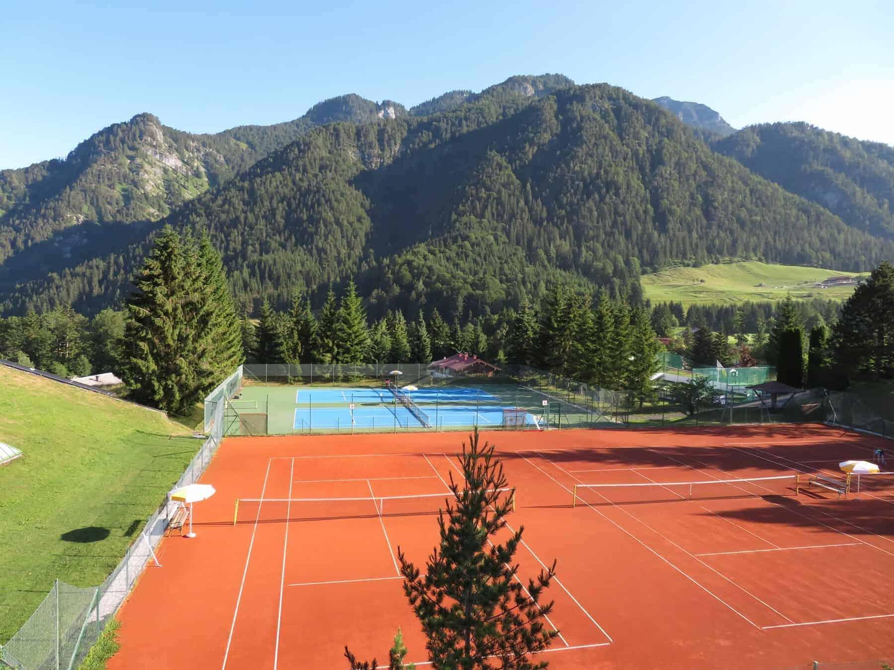 Laerchenhof indoors outdoors clay or hard court tennis