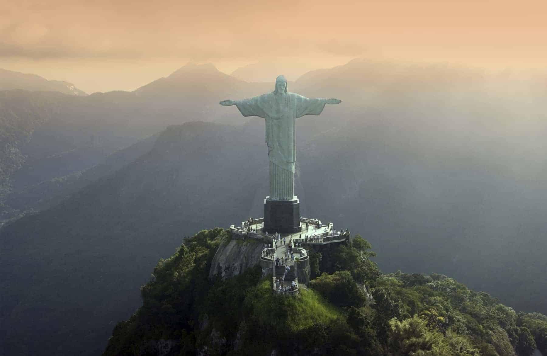 Christ the Redeemer in Rio De Janeiro - Brazil