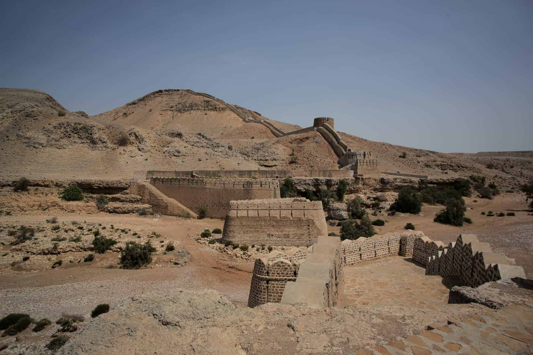 Great Wall Of Ranikot Fort, In Sindh