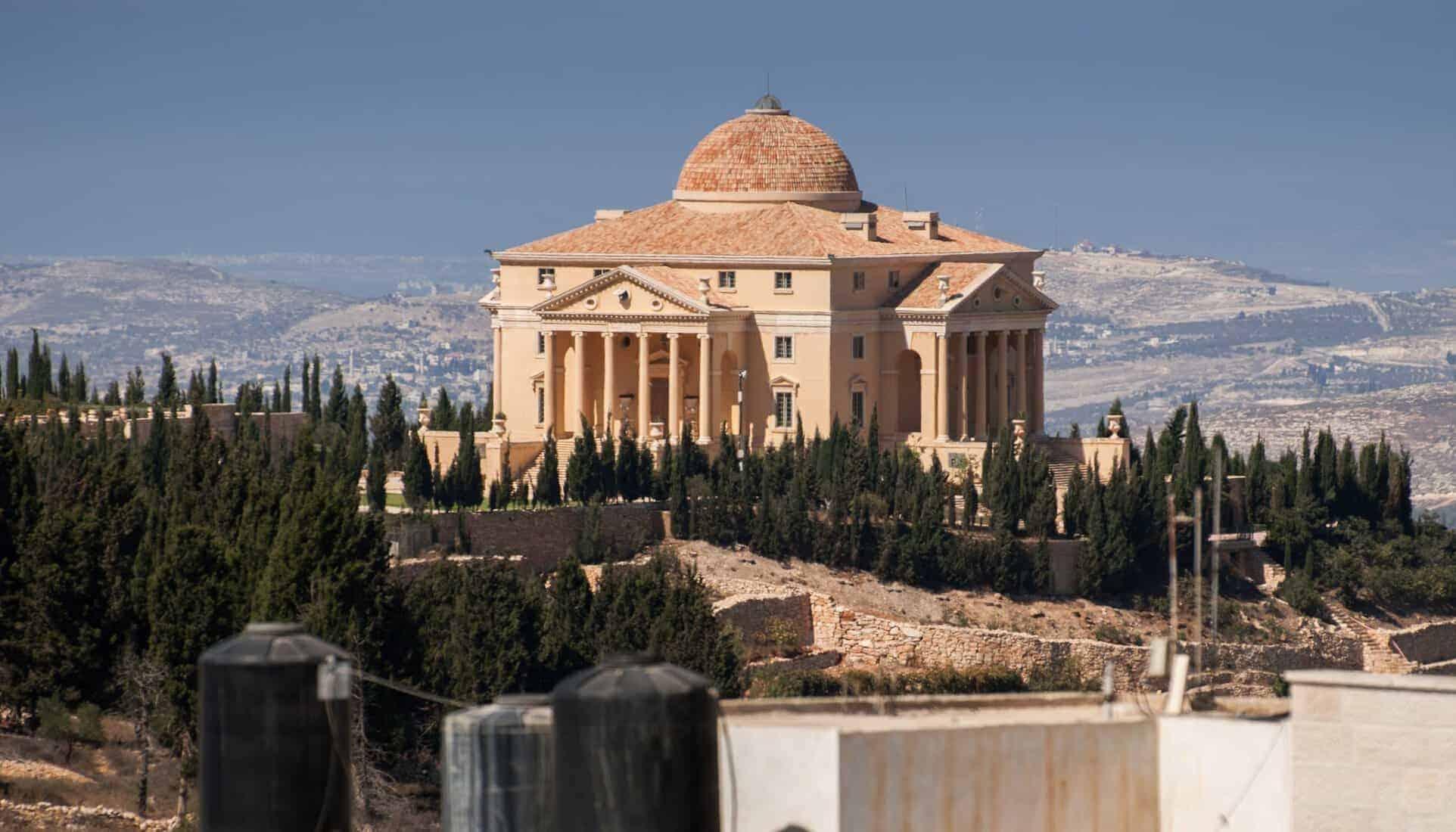 NABLUS, PALESTINE - The House of Palestine in Nablus