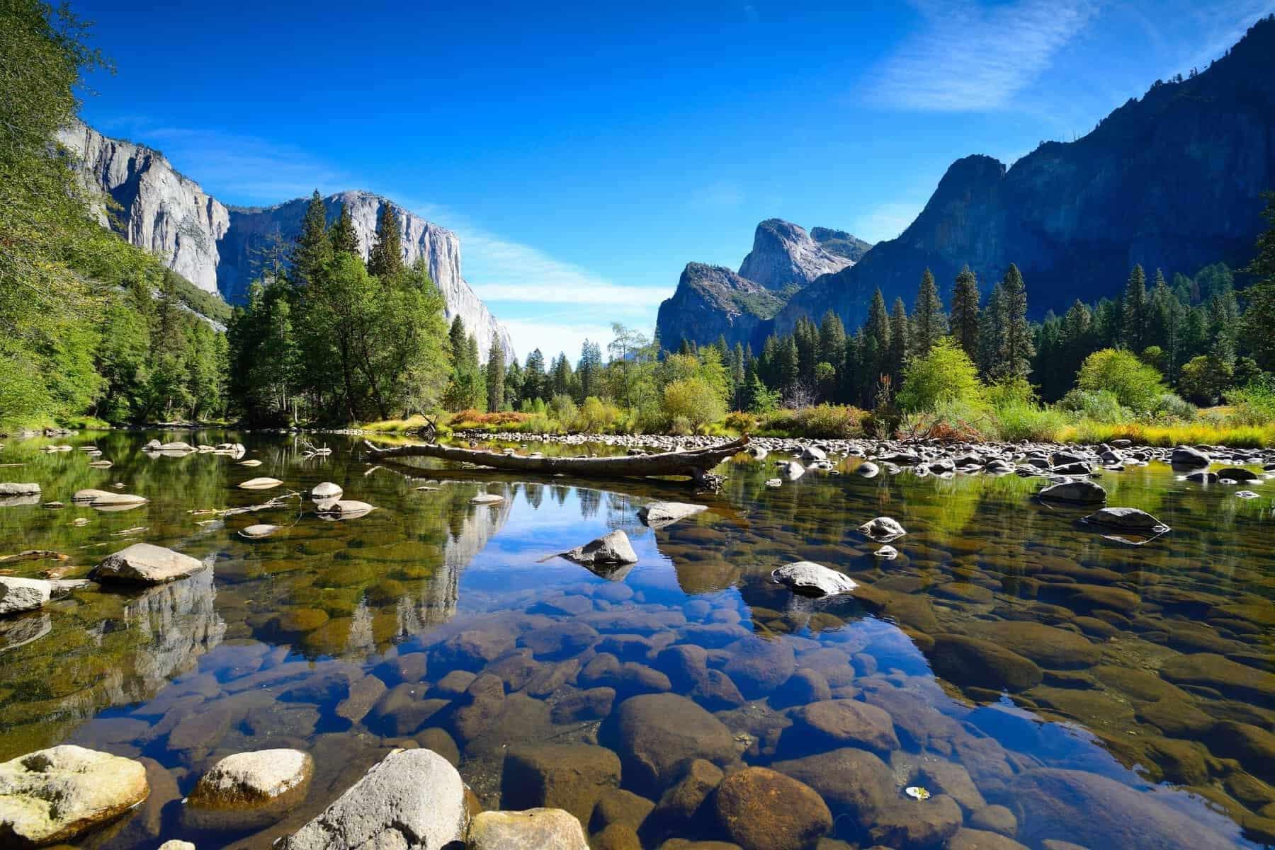 Yosemite landscapes.