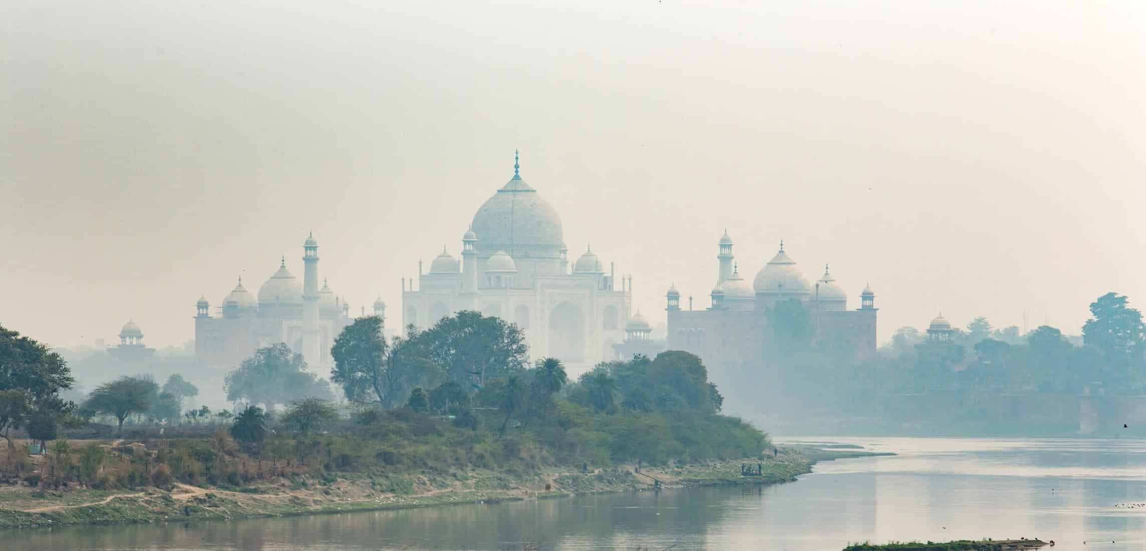 Agra, Taj Mahal, Landmark, architecture, INDIA, indian, river, february