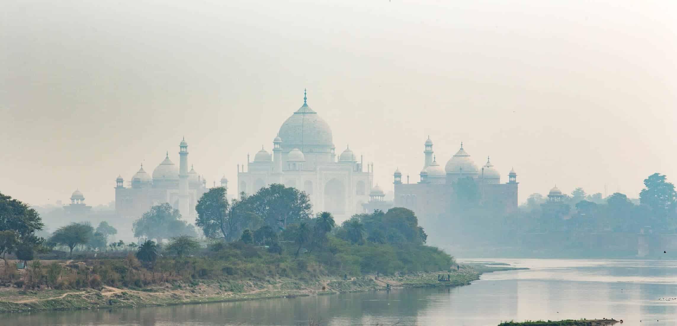Agra, Taj Mahal, Landmark, architecture, INDIA, indian, river, february