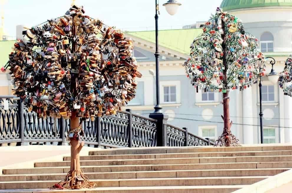 Padlock-Tree, Moscow