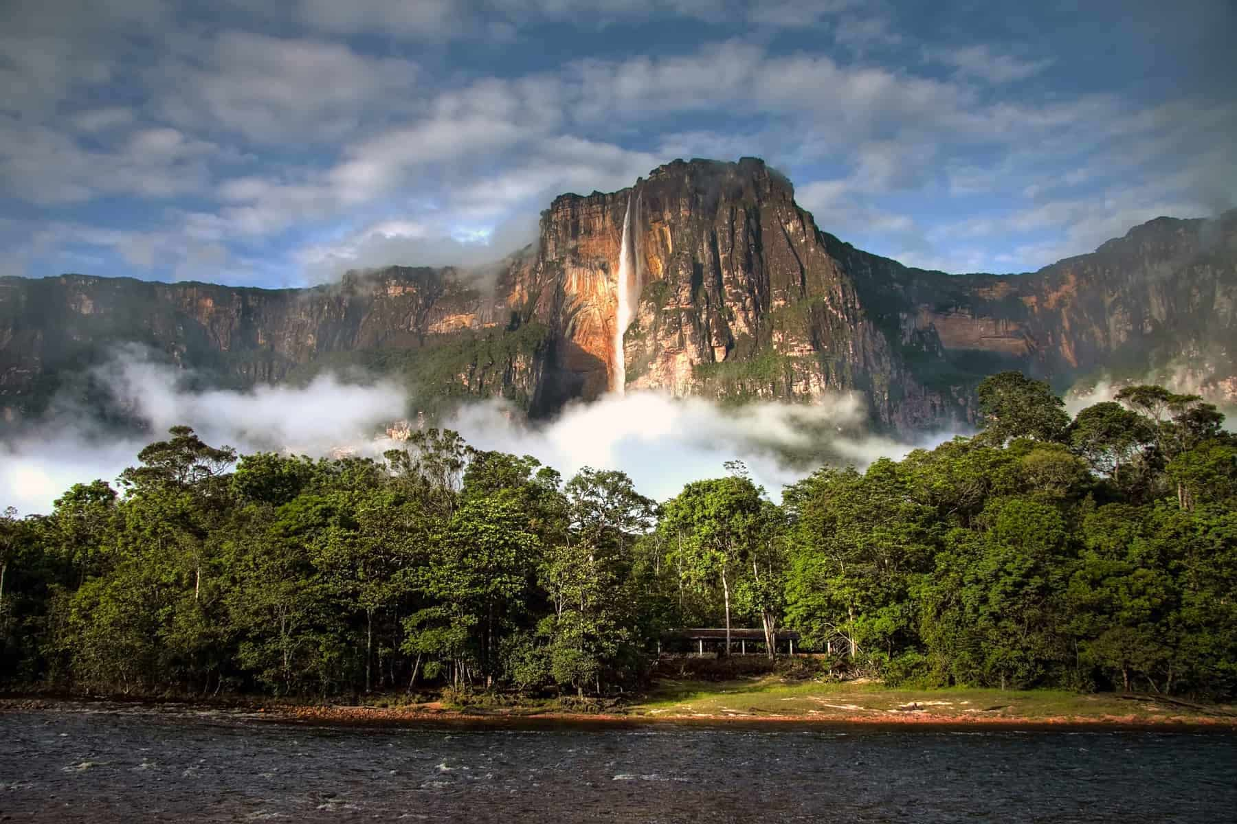 Angel Falls - the highest waterfall in the world - stunning beauty of nature