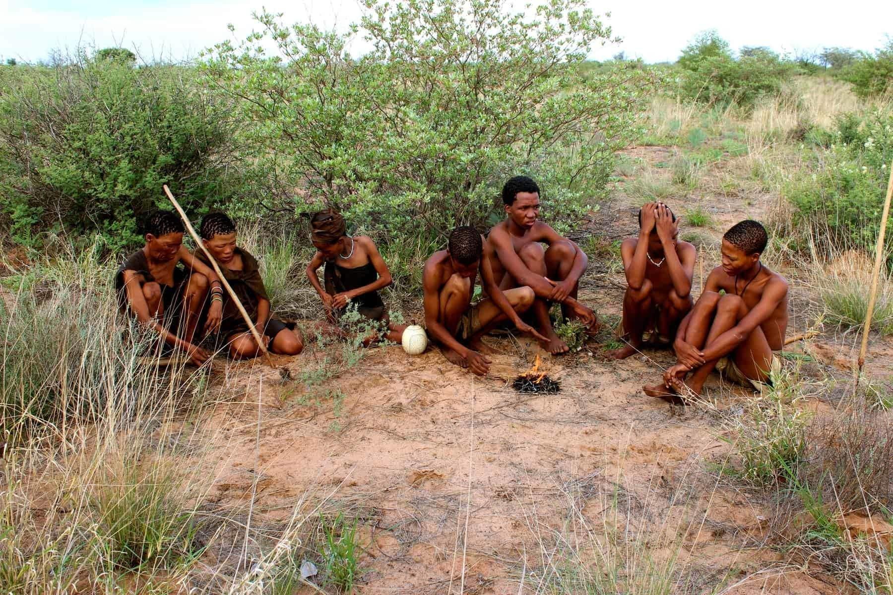 Botswana, the San Bushmen