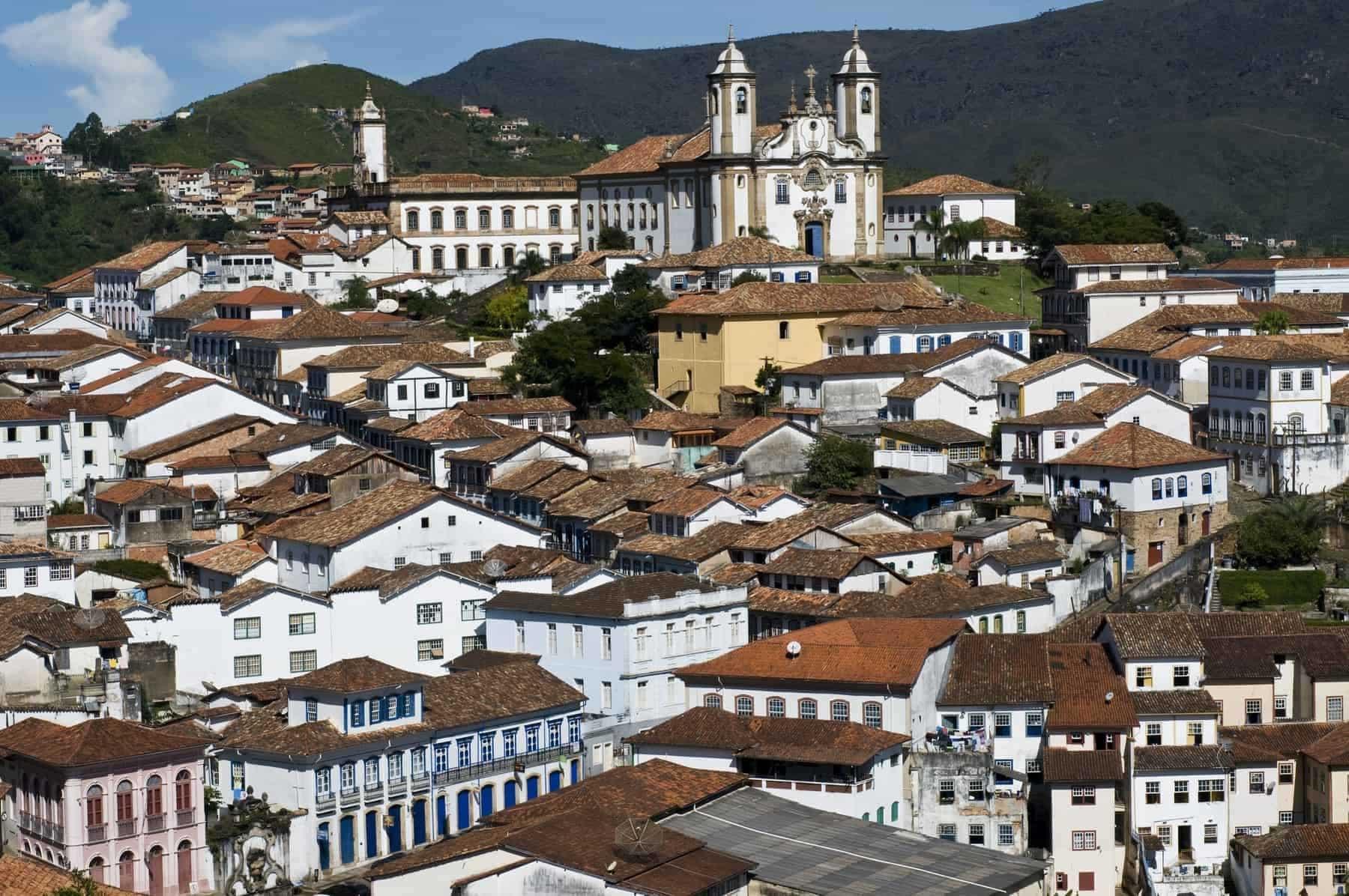 Brazil Ouro Preto town