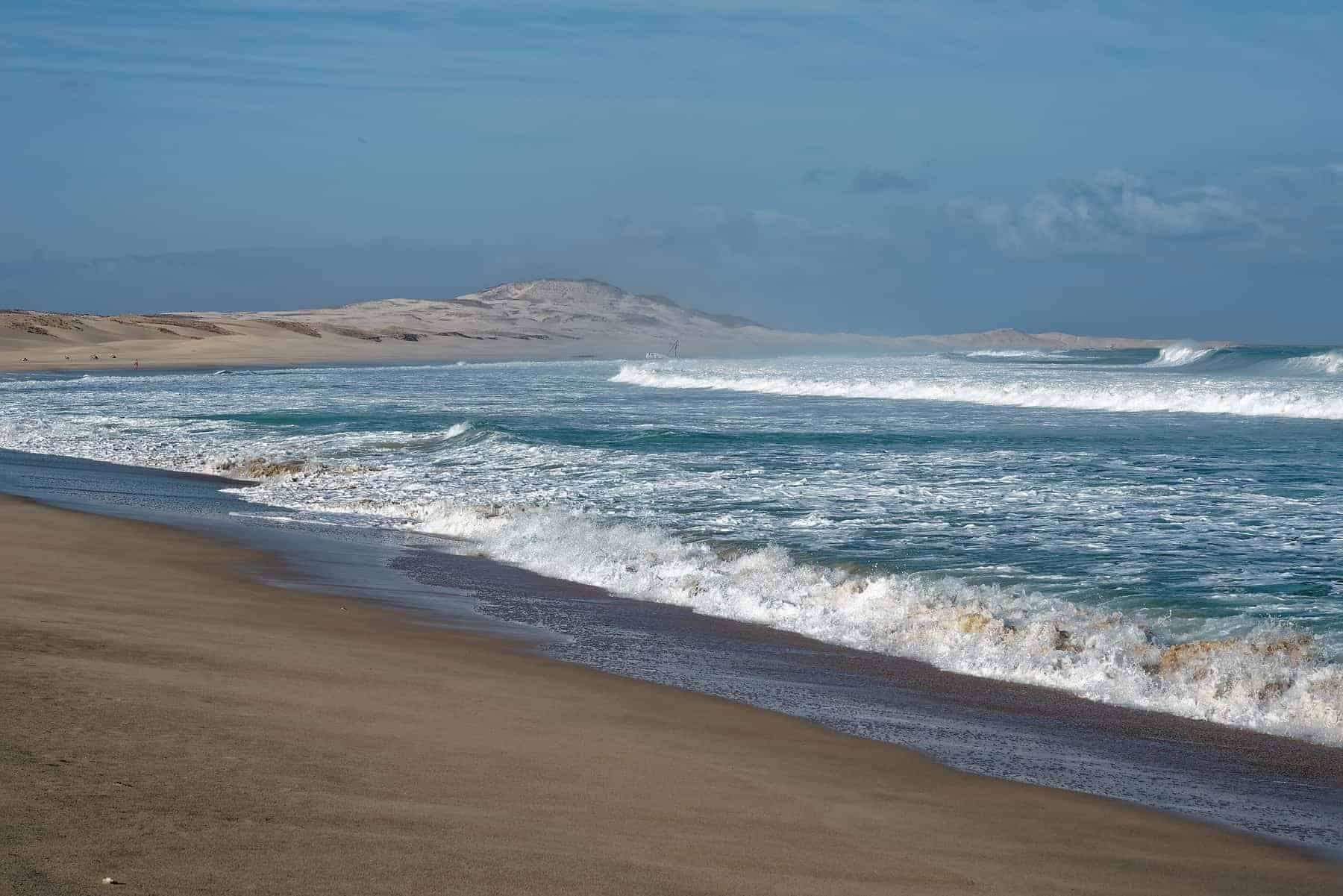 Island Boa Vista in Cape Verde, landscape - seaside