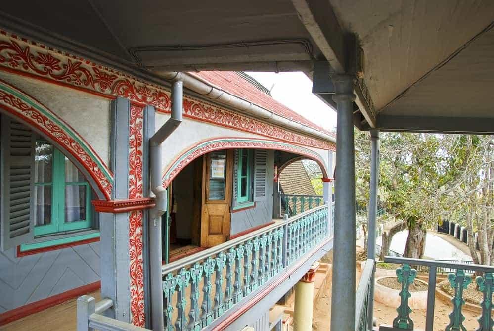 The palace Mahandrihono, Madagascar