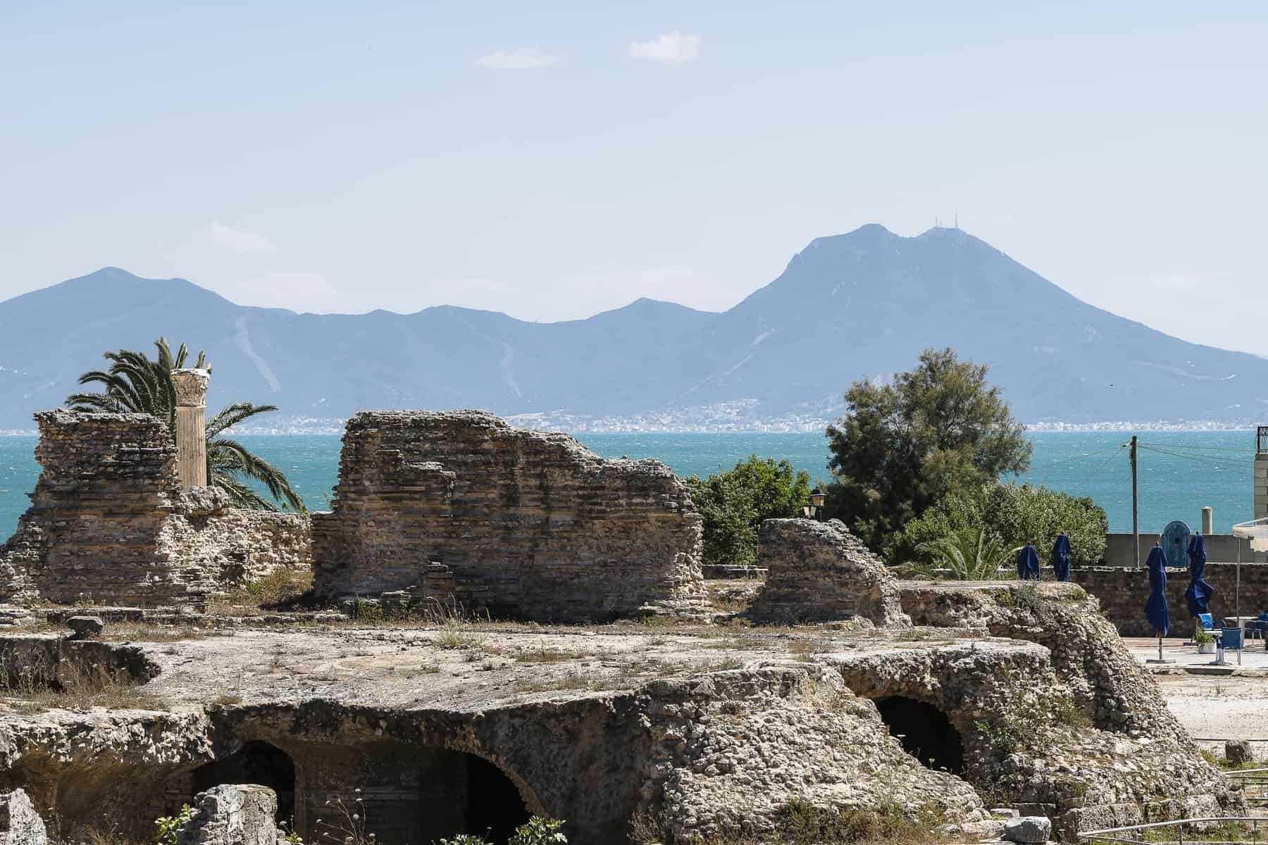 Tunisia Ruins of Cartagina