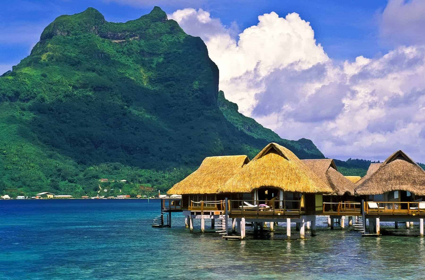 Fiji Islands huts