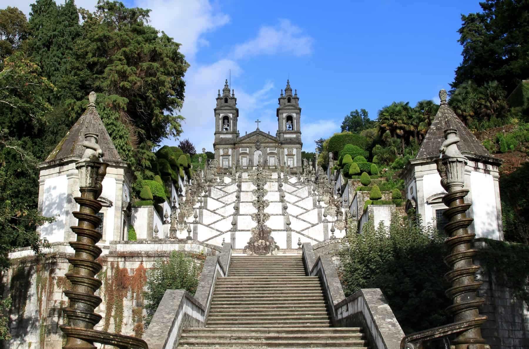 Portugal, Santuario Bom Jesus do Monte