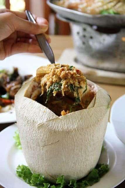 HOR MOK MA PROW AWN food Thailand