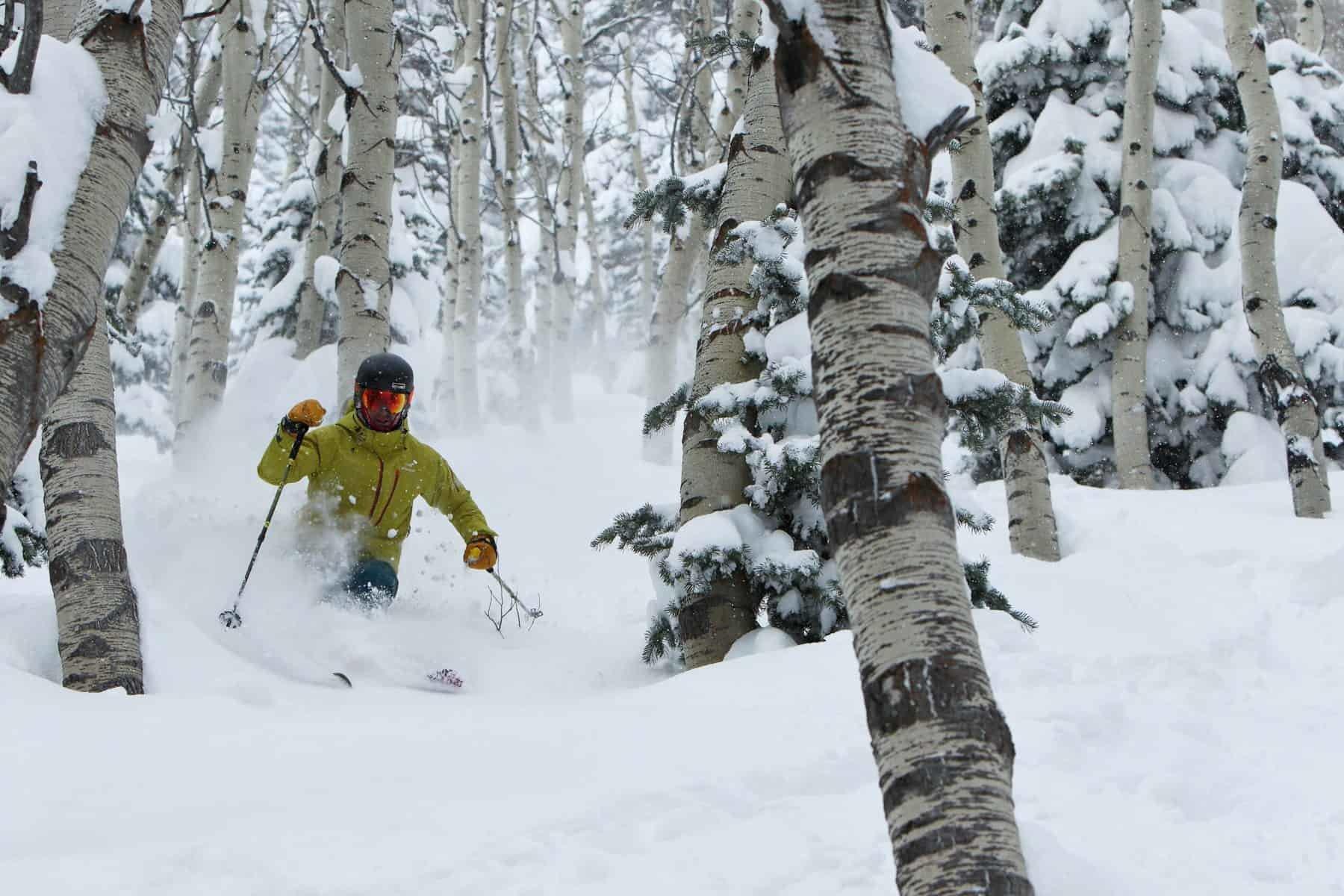 Park City, offf piste skiing USA