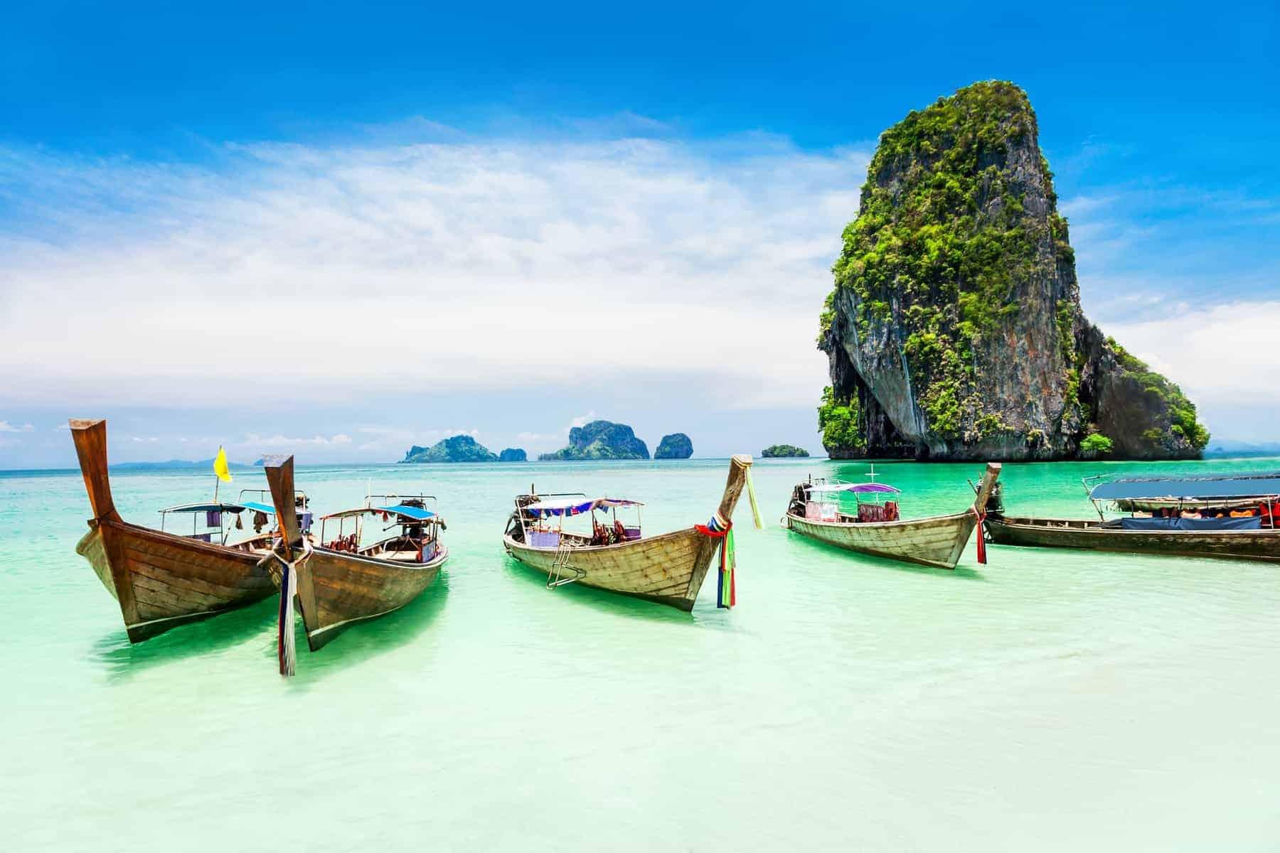Phuket, Thailand, Longtale boat