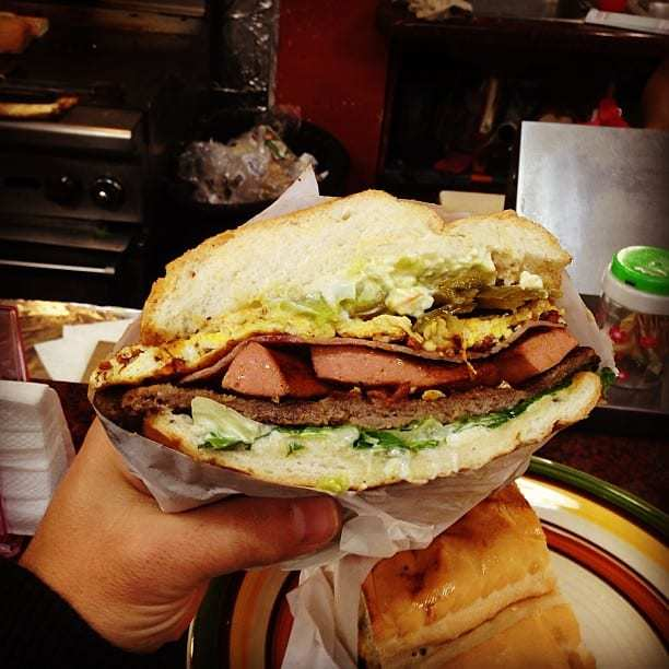 the cuban Hamburger