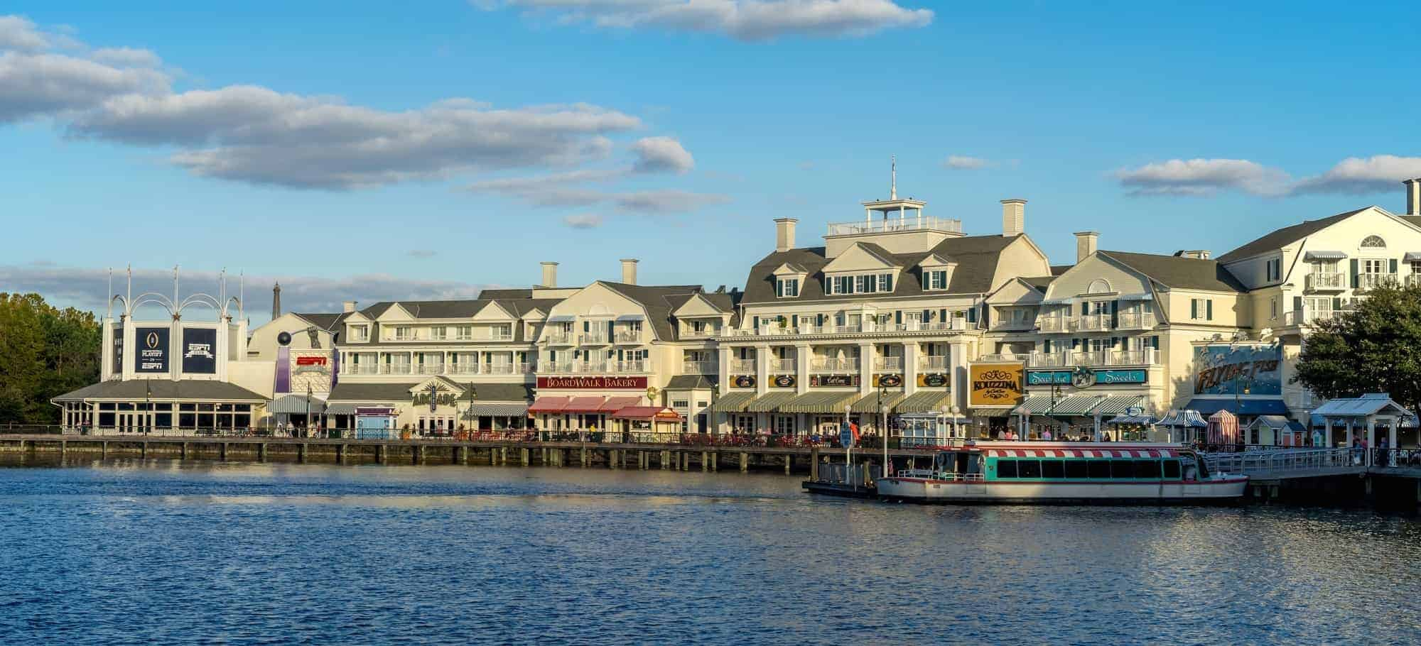 Boardwalk Hotel. Epcot Disney Florida