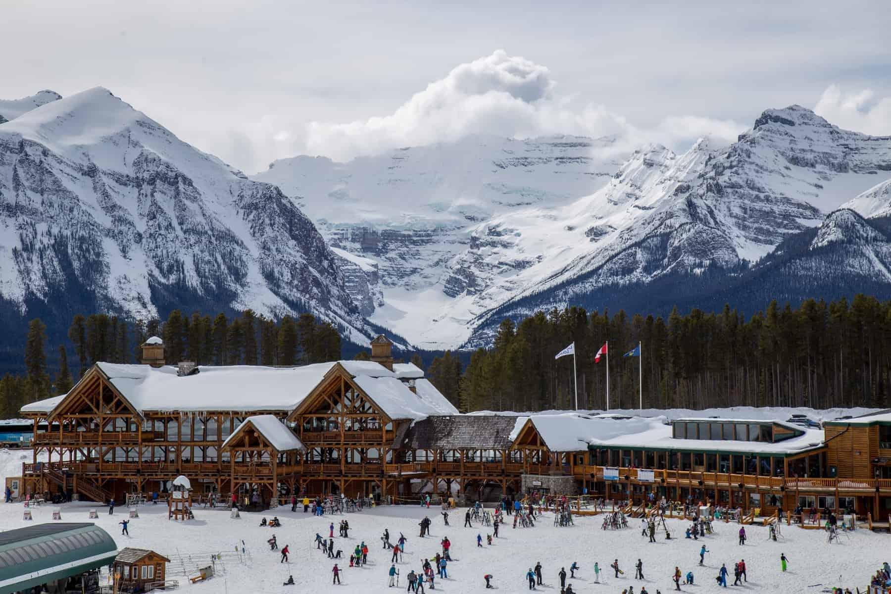 Lake Louise Skisportssted Canada