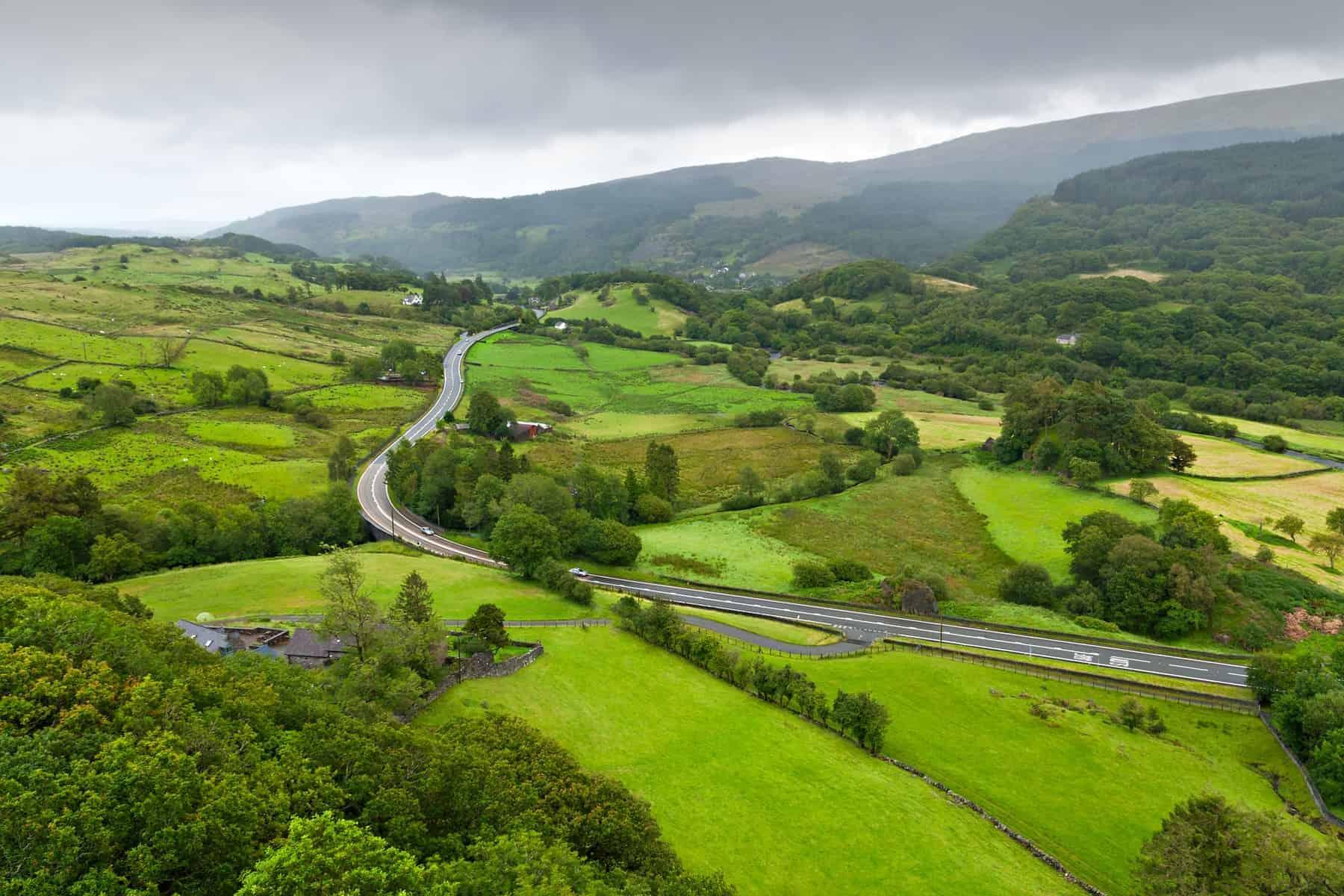 Wales. Snowdonia, Wales