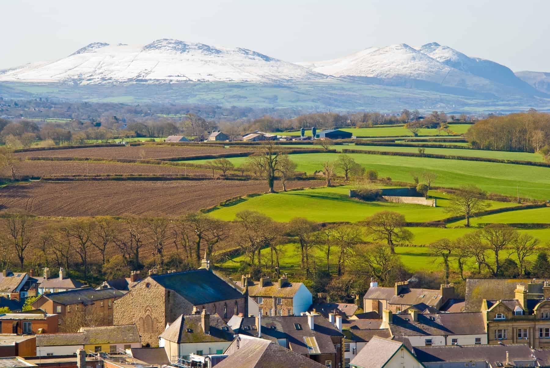 Snowdonian bjerge, Wales Rejser til Wales