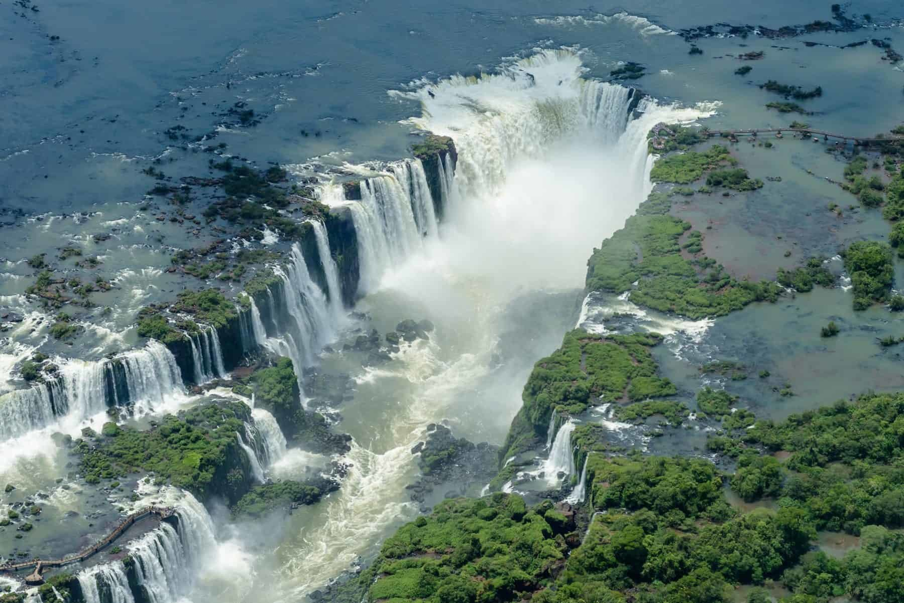 Iguazu waterfalls, Argentina and Brazil