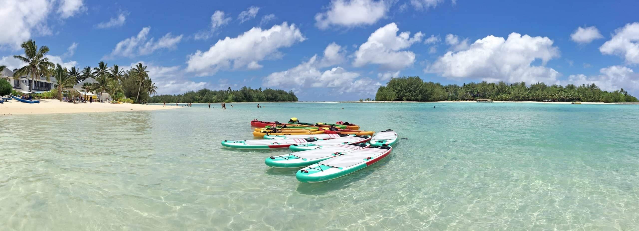 Rarotonga, Blue logoon, Cook Islands