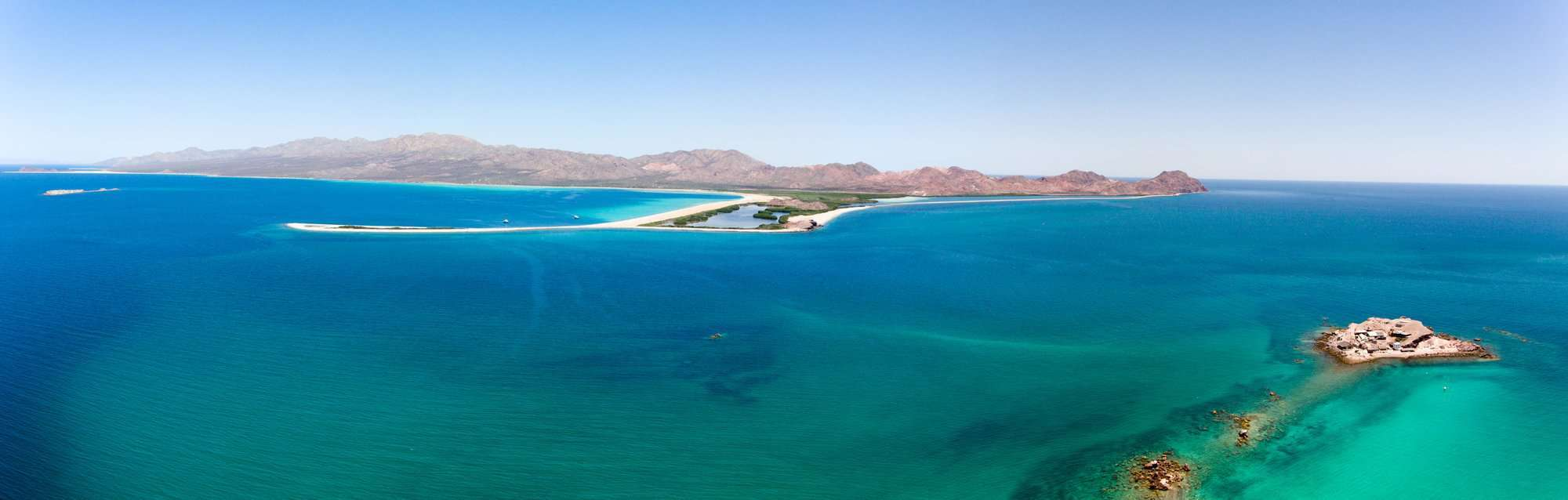 isla San Jose, Baja California Sur, Mexico. Sea of cortez.