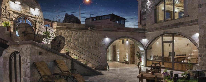 the cave hotel Aydinli