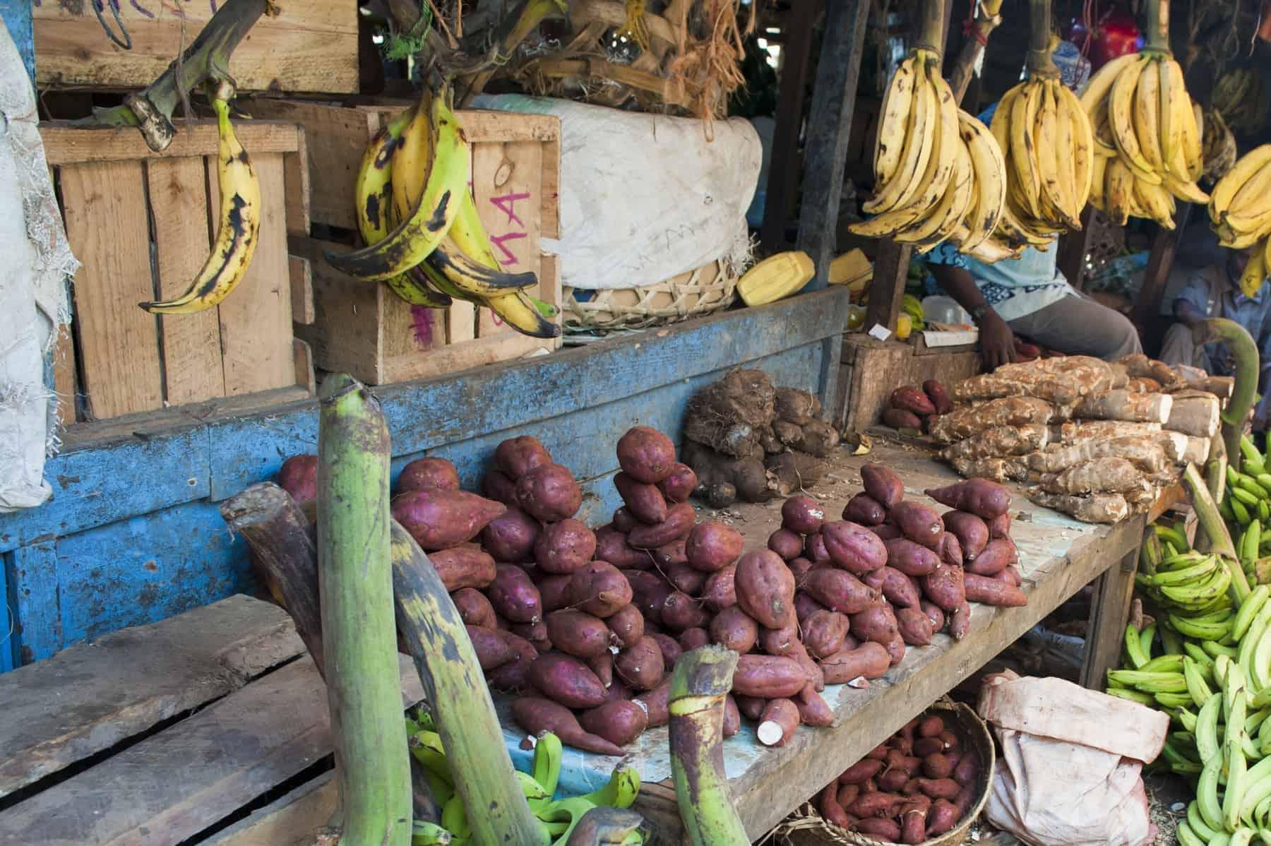 zanzibar food market