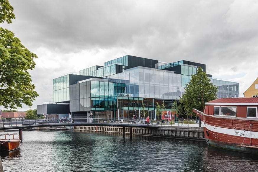 Blox, midt i København, arkitektur og oplevelse, cafe og mødested