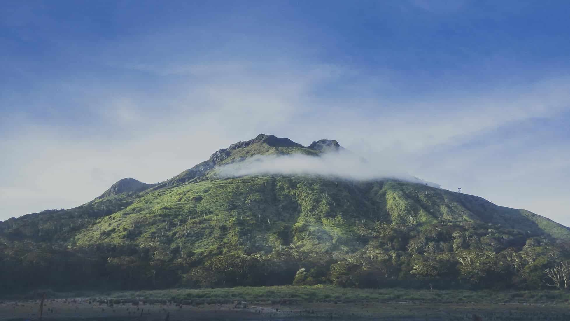 Mount Apo, the philippines. Biggest mountains in asia