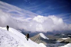 Mount Khüiten, Mongoliet