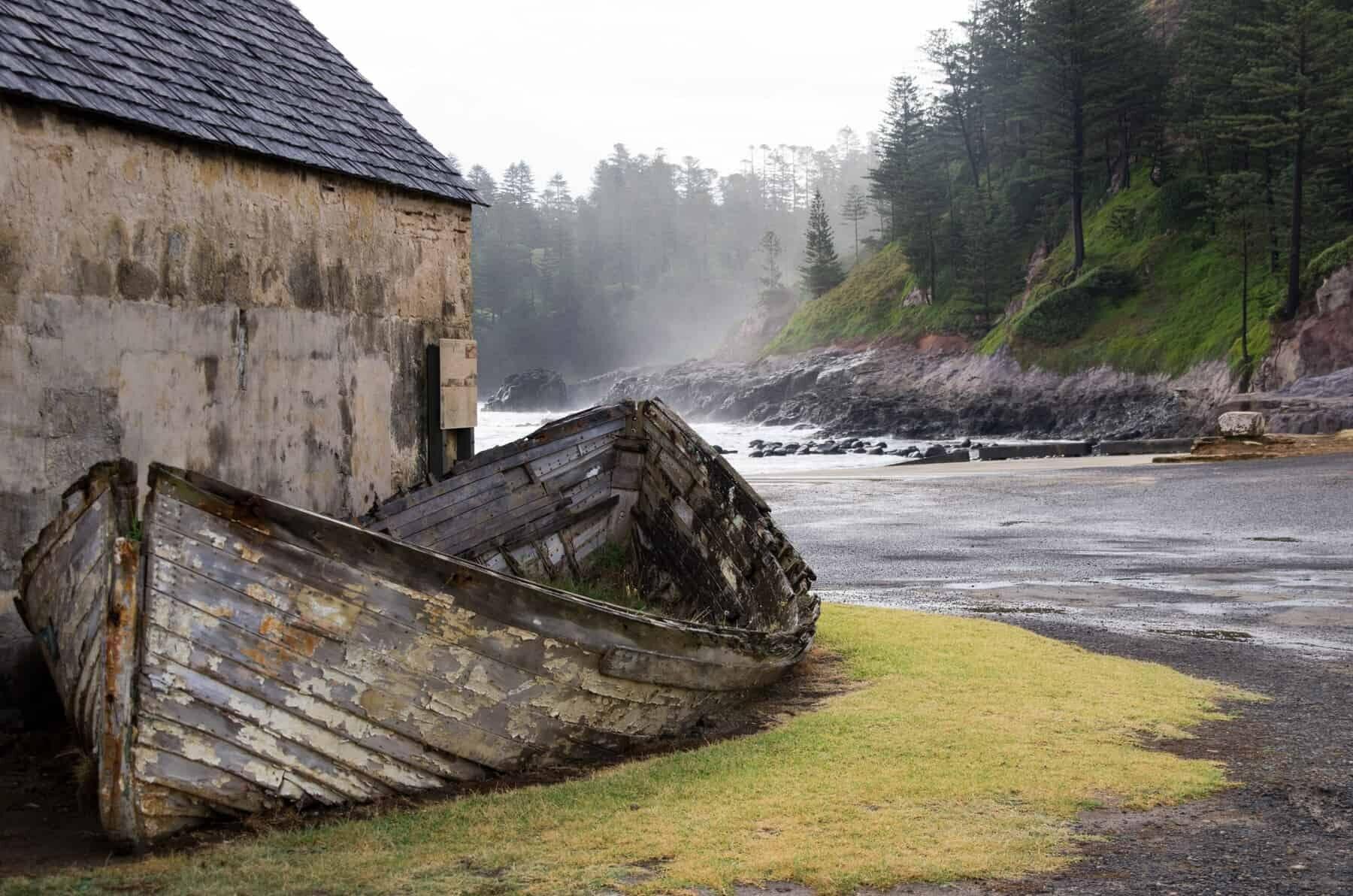 Ruins, Norfolk Island.