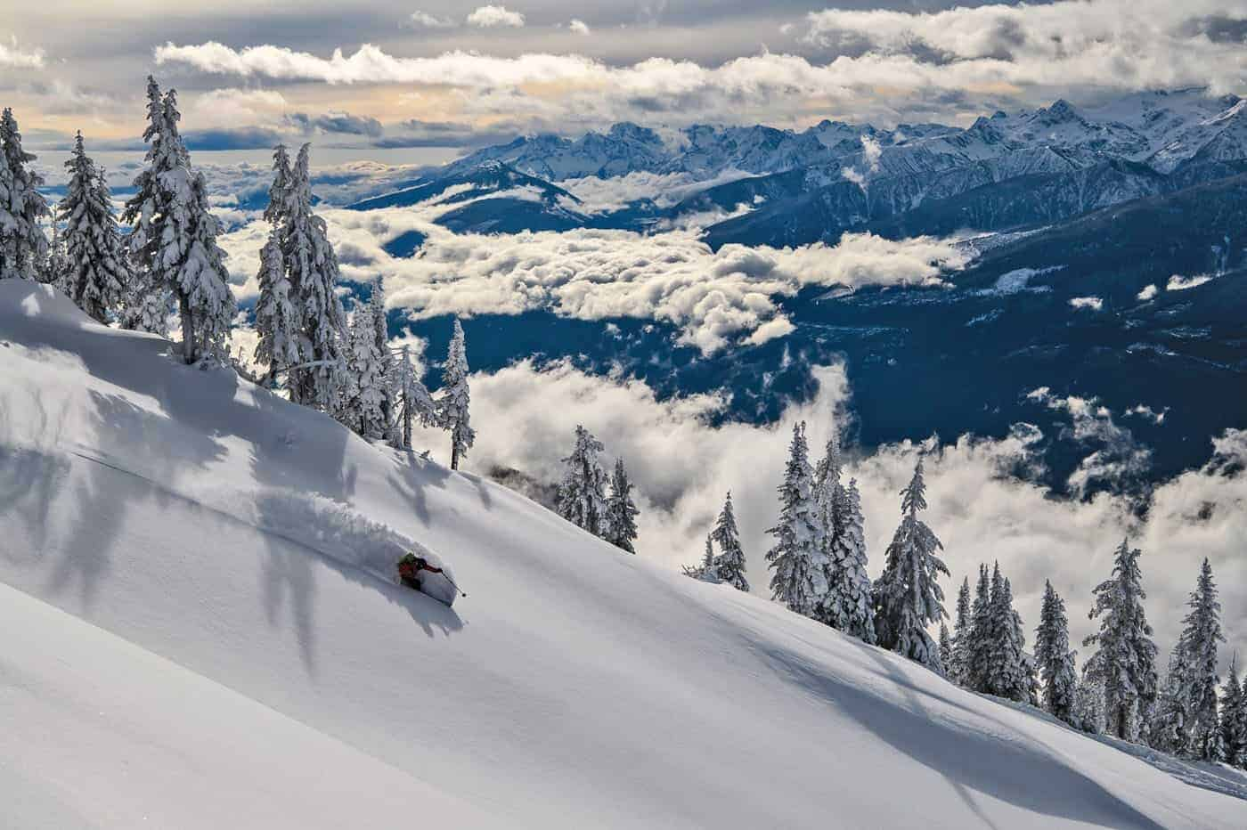 Canada has some of the best ski resports on the continent