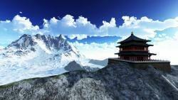 Sun temple - Buddhist shrine