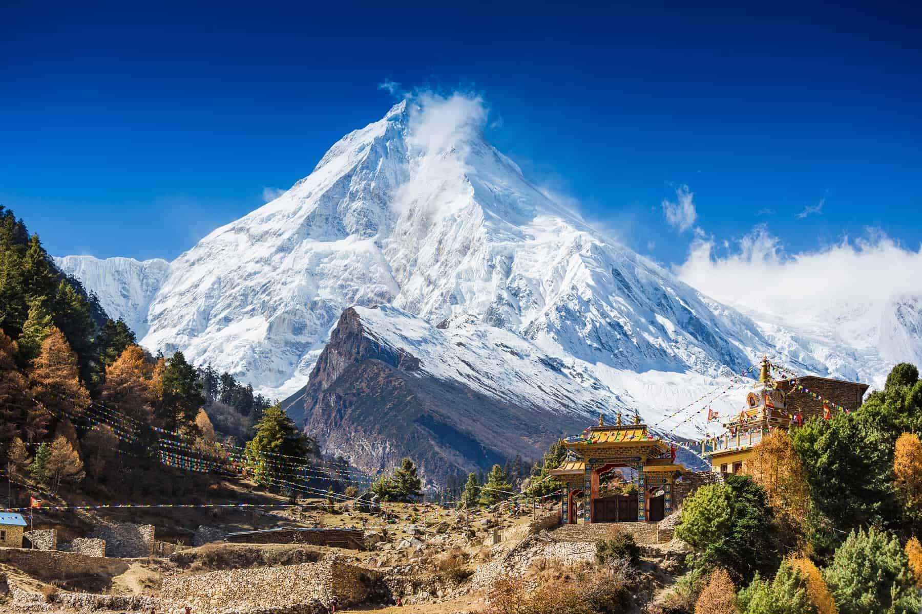 The Himalayas from Tibet