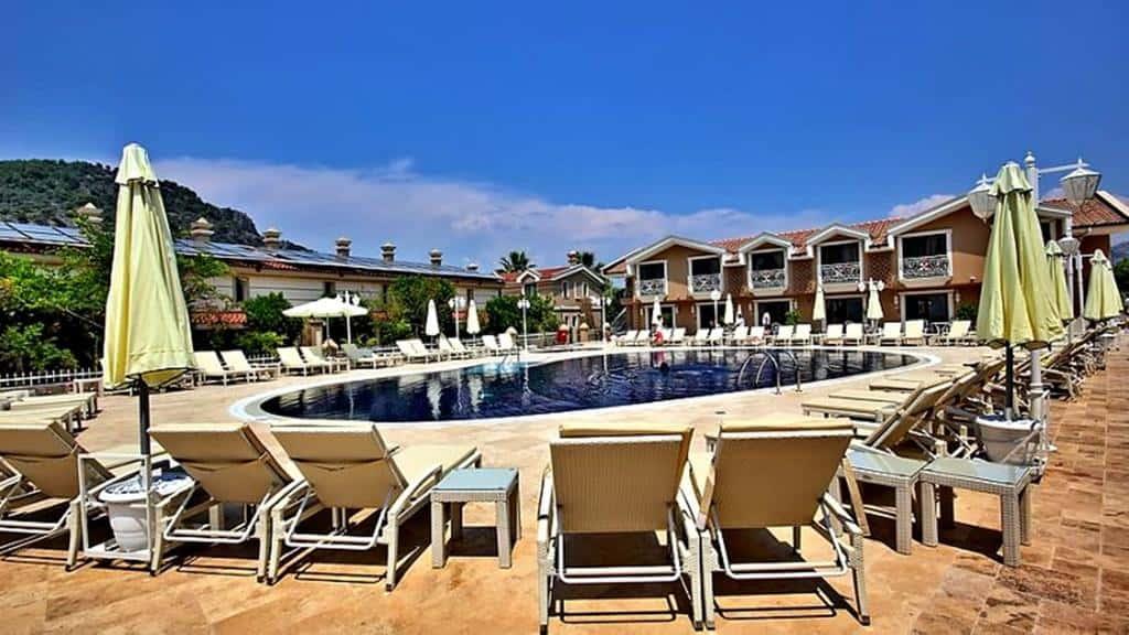 Strandhoteller i Tyrkiet. Dalyan Resort Tyrkiet