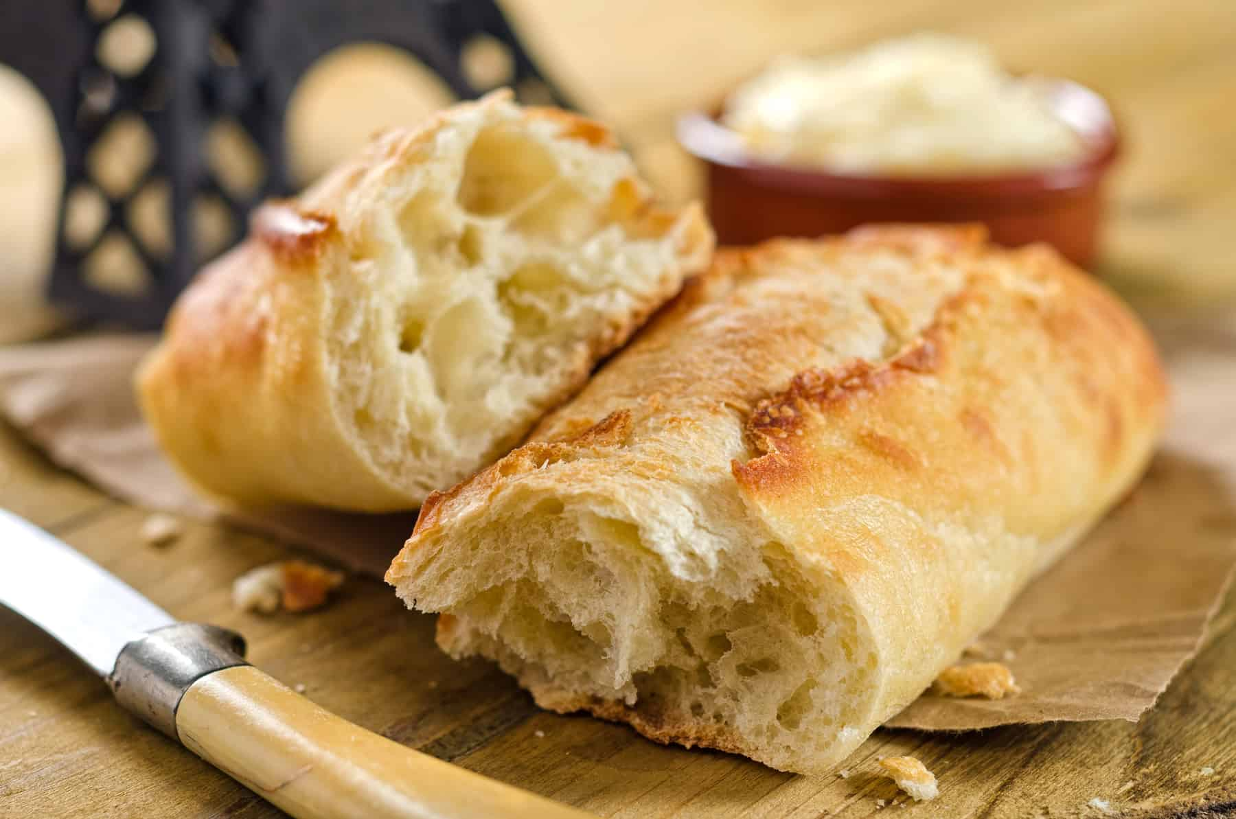 French Bread called Baguette and indispensable