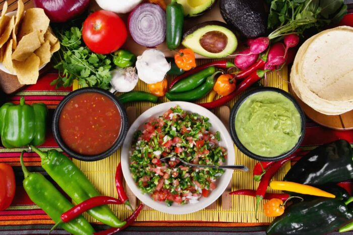 Mexican food, Traditional mexican salsas